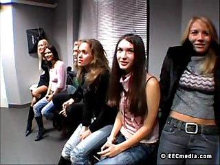russian fashion models Svetlana and Rita fuck for money