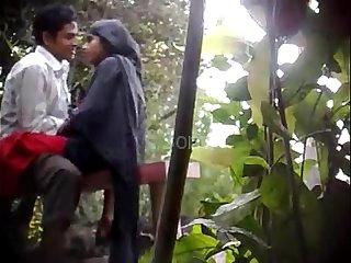 Hidden Cam Shoot at Park muslim teens