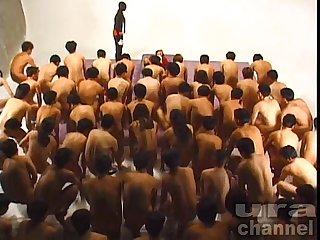 Bukkake festival 3 Japanese uncensored bukkake